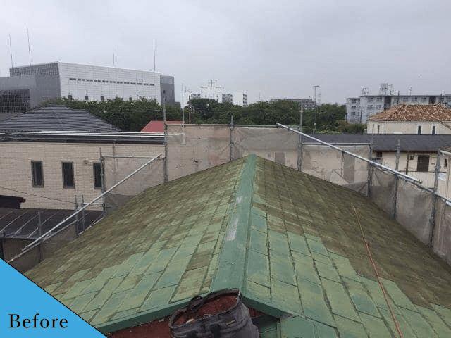 屋根before