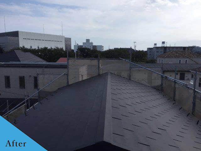 屋根after